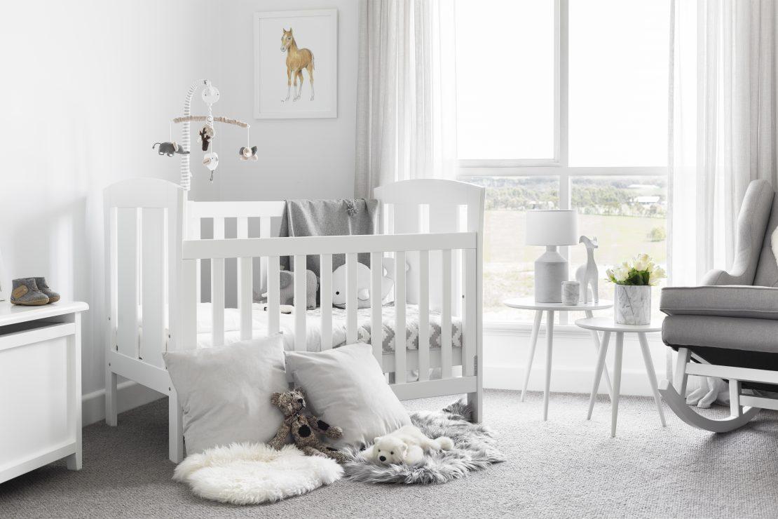 Habitat emma hawkins reveals baby arabella s nursery for Rocking chair chambre bebe