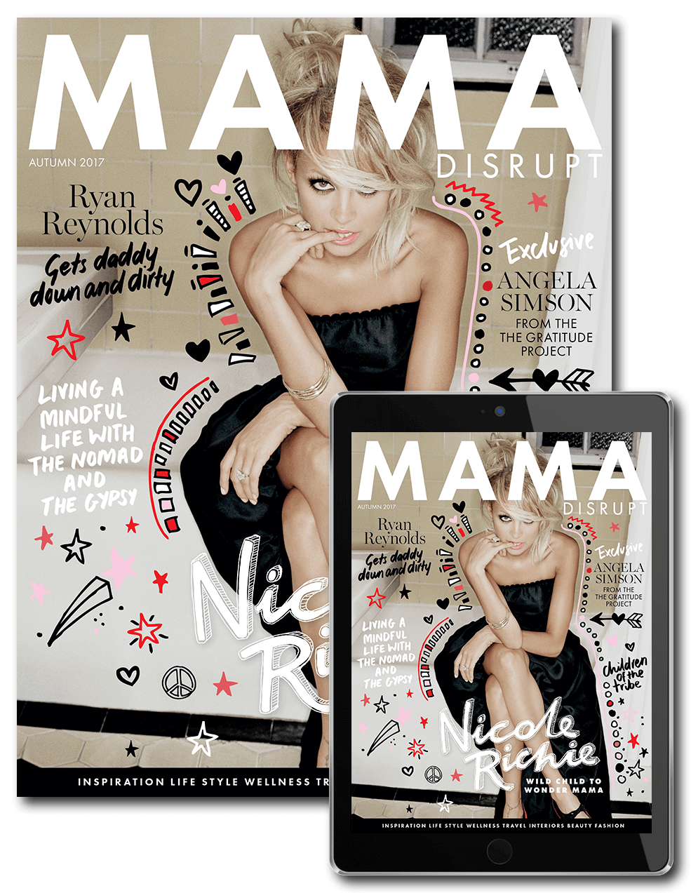 mama disrupt™ autumn 2017 issue magazine