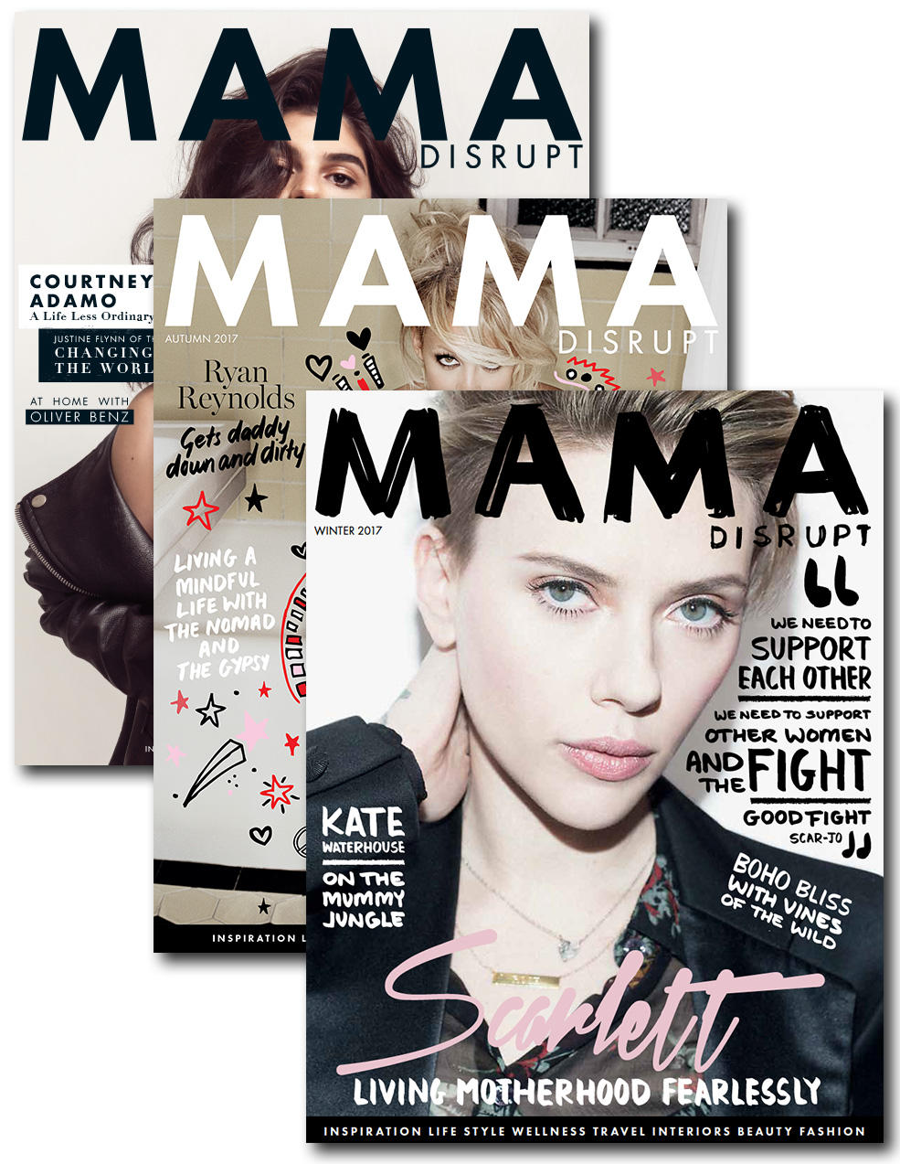Mama Disrupt® Print Subscription