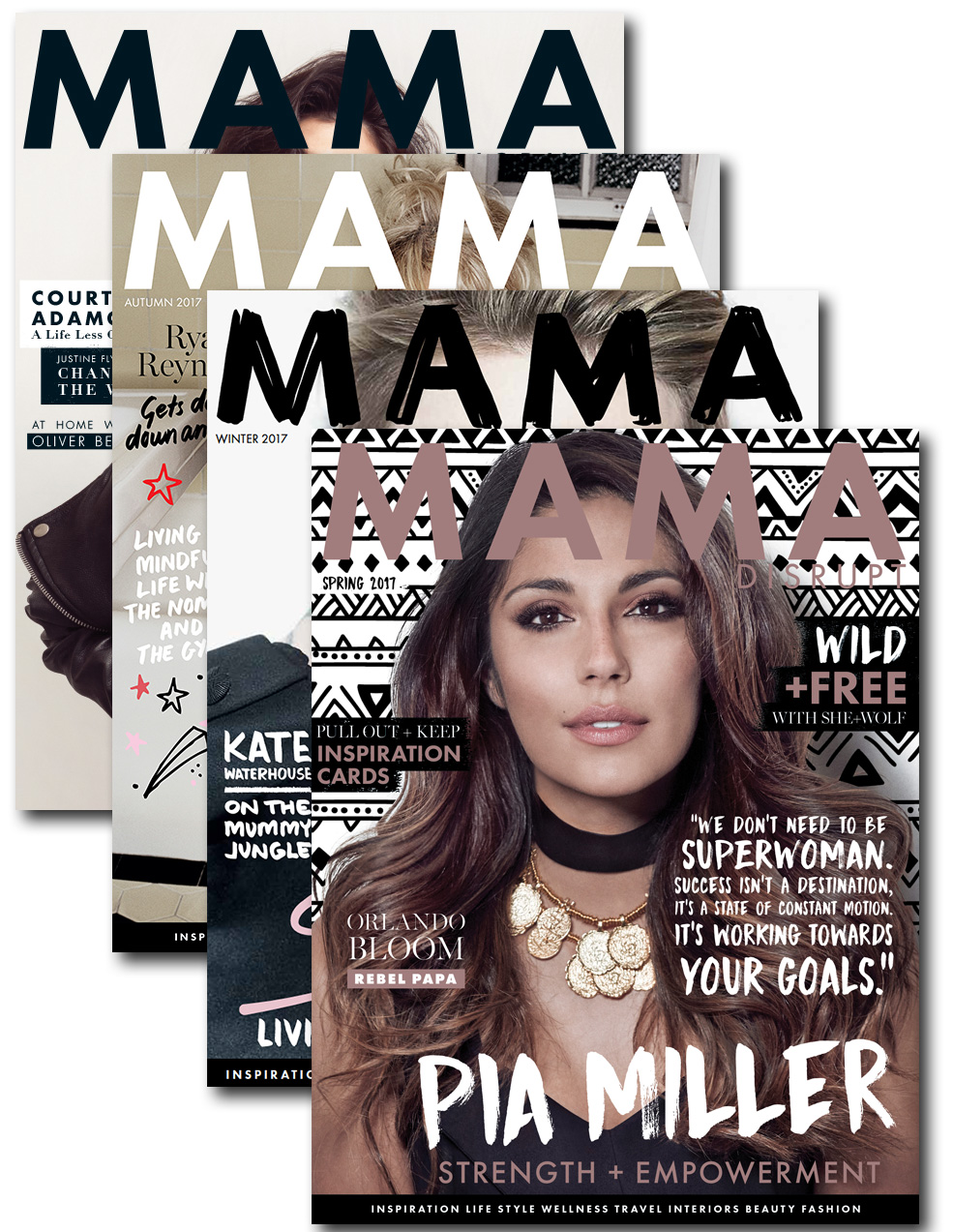 mama disrupt® subscription graphic