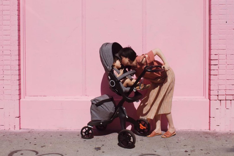 Mama fashion Stokke Xplory