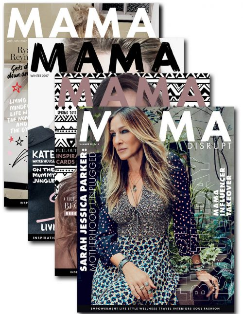 Mama Disrupt® Subscription Summer 2017 2018 Birthday Issue