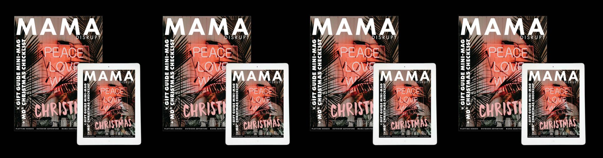 Mama Disrupt® 2017 Mini Mag Gift Guide