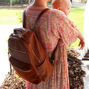 Spark of Wild Leather baby bags backpacks mama disrupt