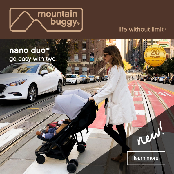 Mountain Buggy® Nano Duo™ Advertisement Image