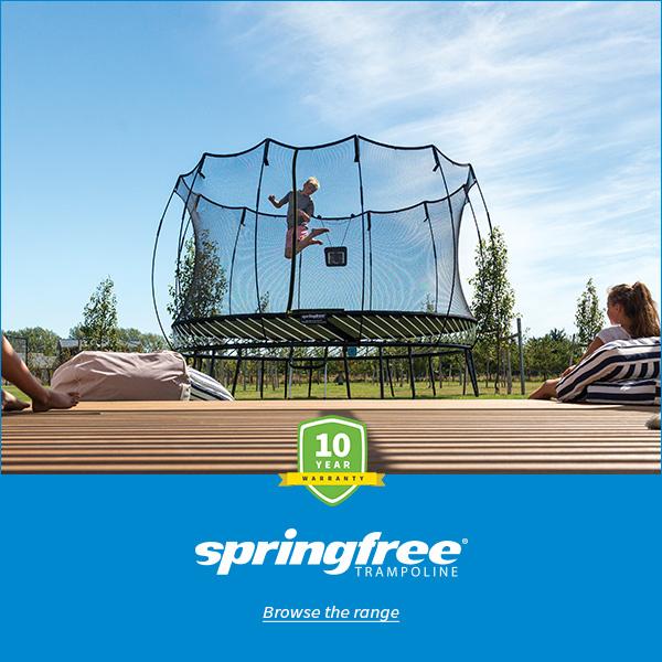 Springfree® Trampoline Mama Disrupt Advertising Image