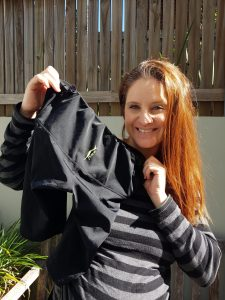 Pregnant mum tries SRC Pregnancy Shorts