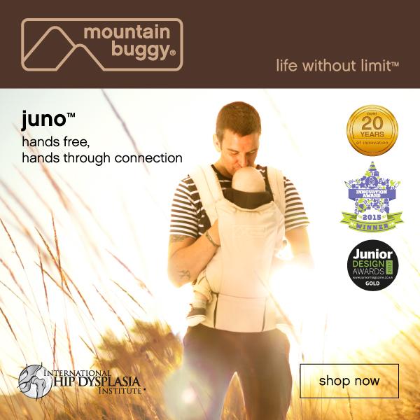 Mountain Buggy Juno Advertisement Mama Disrupt®