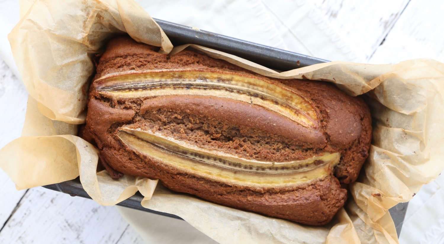 Mandy Sacher healthy banana bread recipe