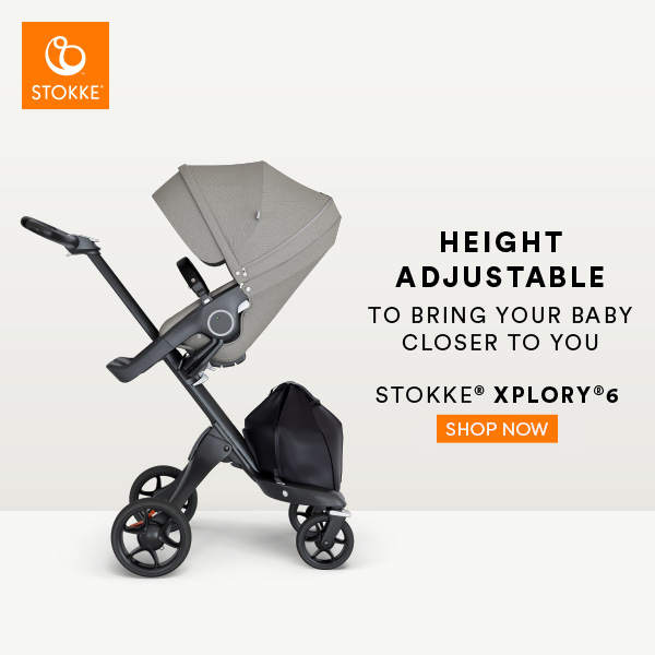 Stokke® Xplory® 6 Advertisement Mama Disrupt®