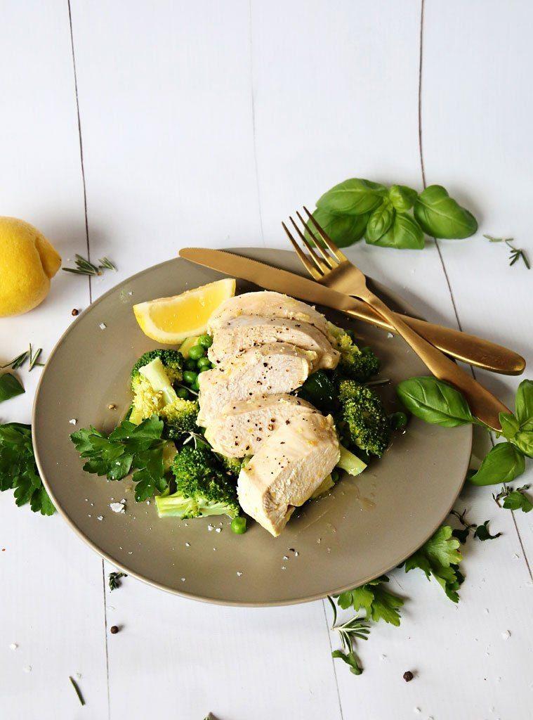 THR1VE lemon chicken salad