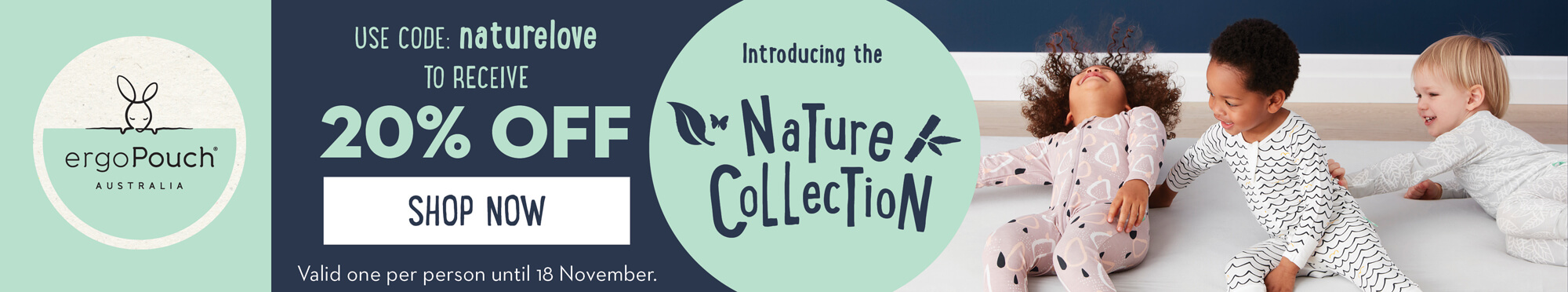ergoPouch® Australia Nature Collection Now Available