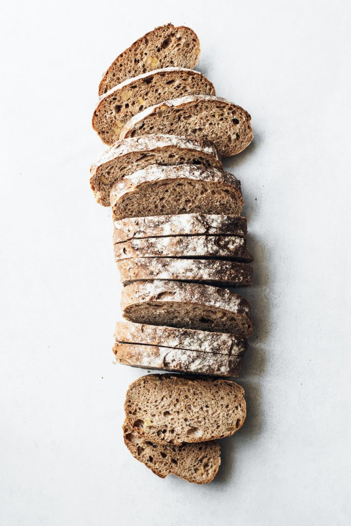Loaf of wholemeal bread