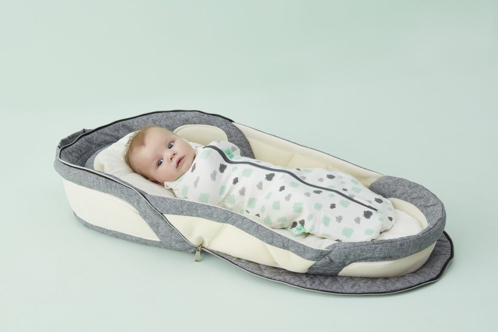 ErgoPouch foldable carry bed