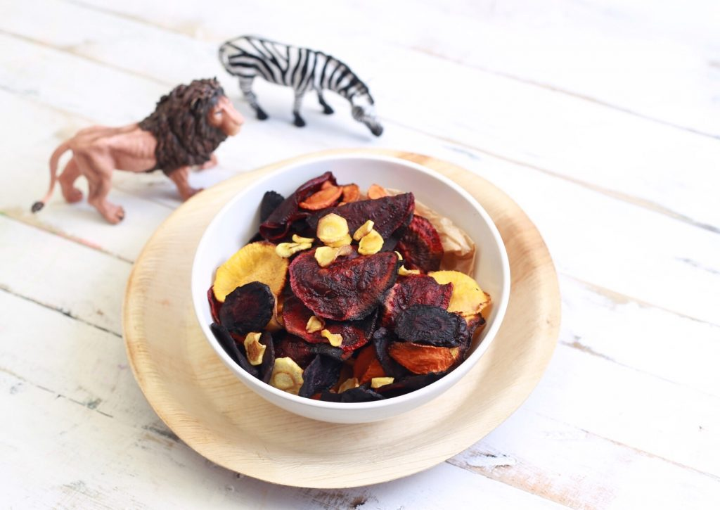 Mandy Sacher recipe for root vegetable chips