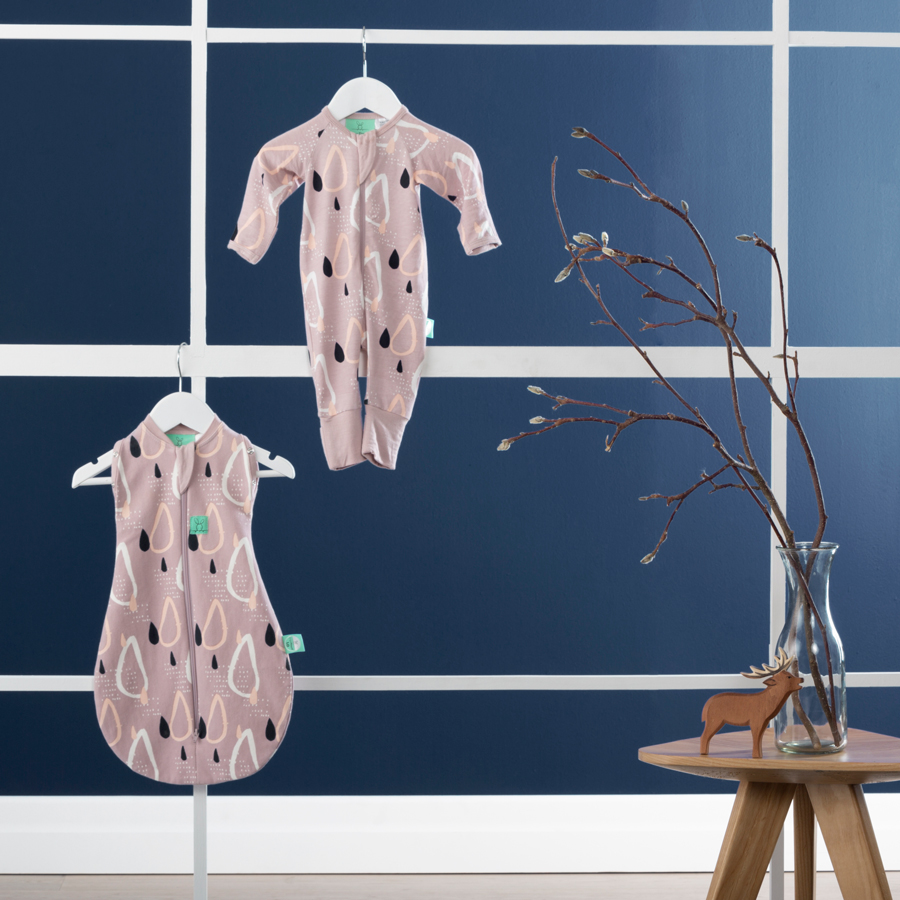 Baby sleepwear ergoPouch Newborn Pack in Drops
