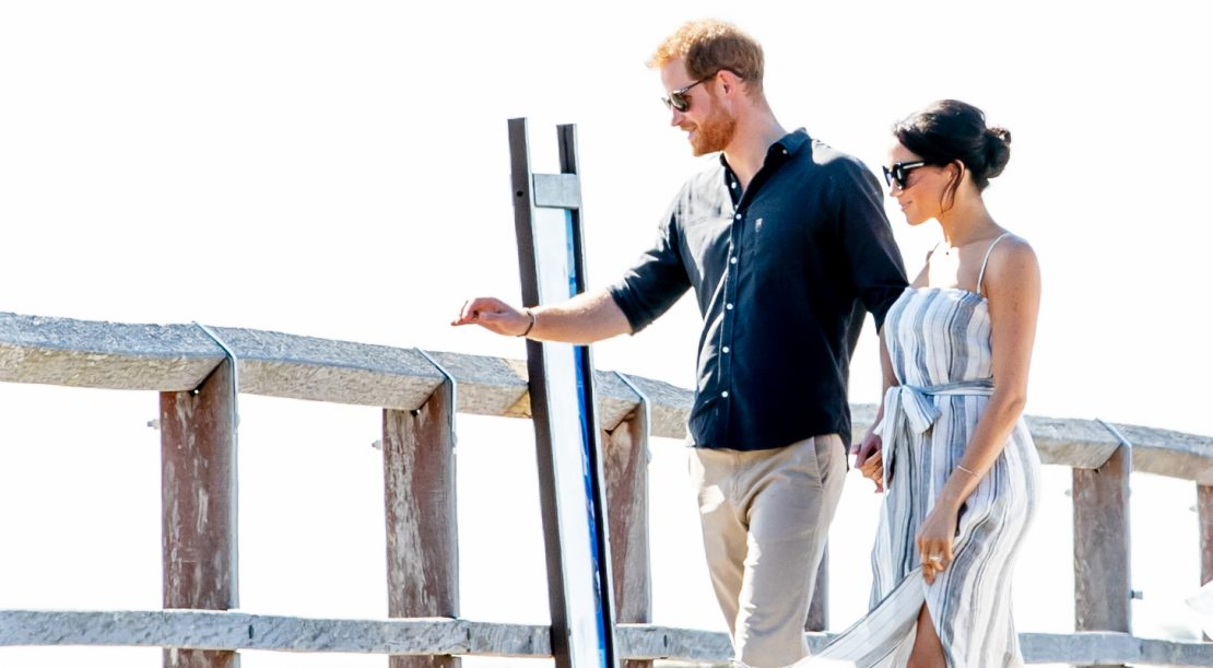 Prince Harry and Meghan in Fraser Island