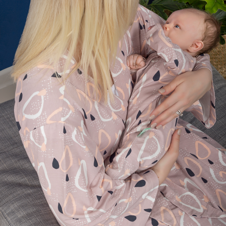 ergoPouch Matchy Matchy Robe in Drops