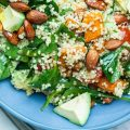 Whole Vegan Pantry Roast Sweet Potato quinoa and avocado Salad