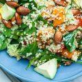 Whole Vegan Pantry Roast Sweet Potato quinoa and avocado Salad
