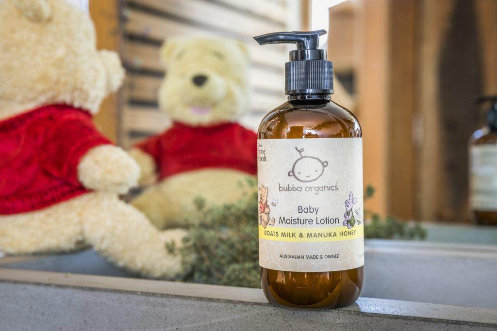 Bubba Organics Winnie the Pooh Baby moisture lotion