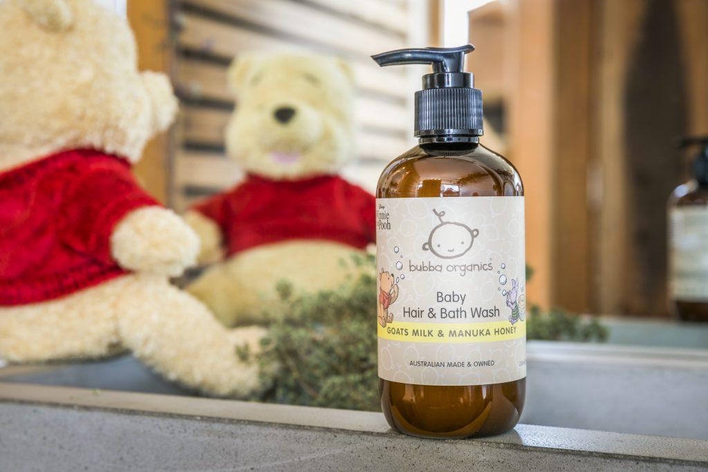 Bubba Organics Winnie the Pooh Hair & Bath wash