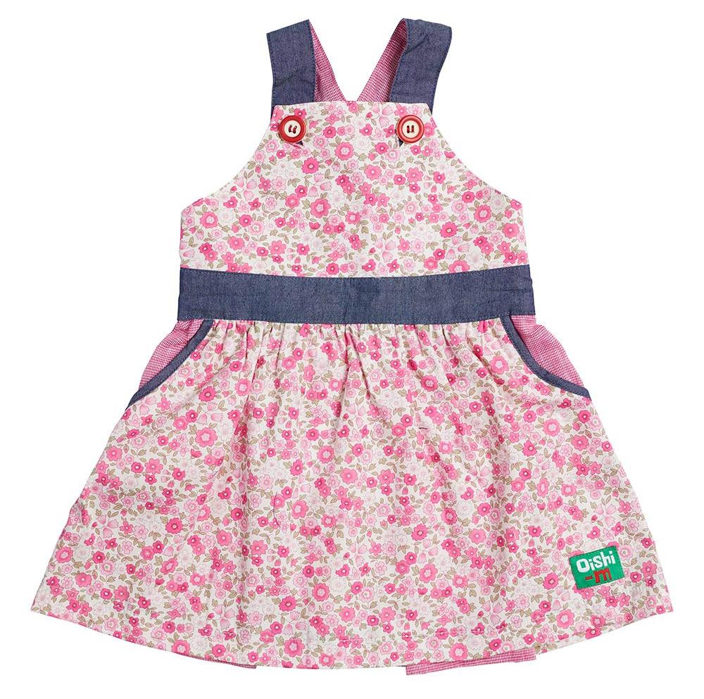 Oishi-m Pot Porri Pinafore Dress