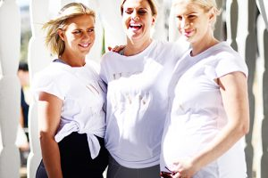 Lenny Rose Active active wear maternity active wear exercise fitness pregnant mama disrupt