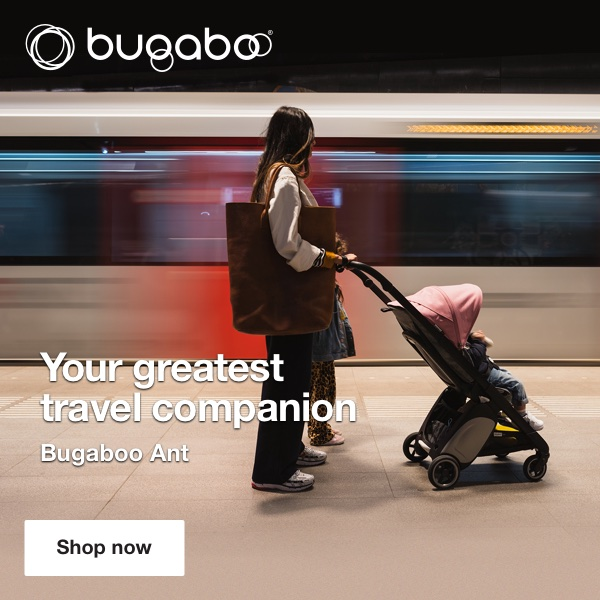 Bubaboo Ant Pram Mama Disrupt® Advertisement