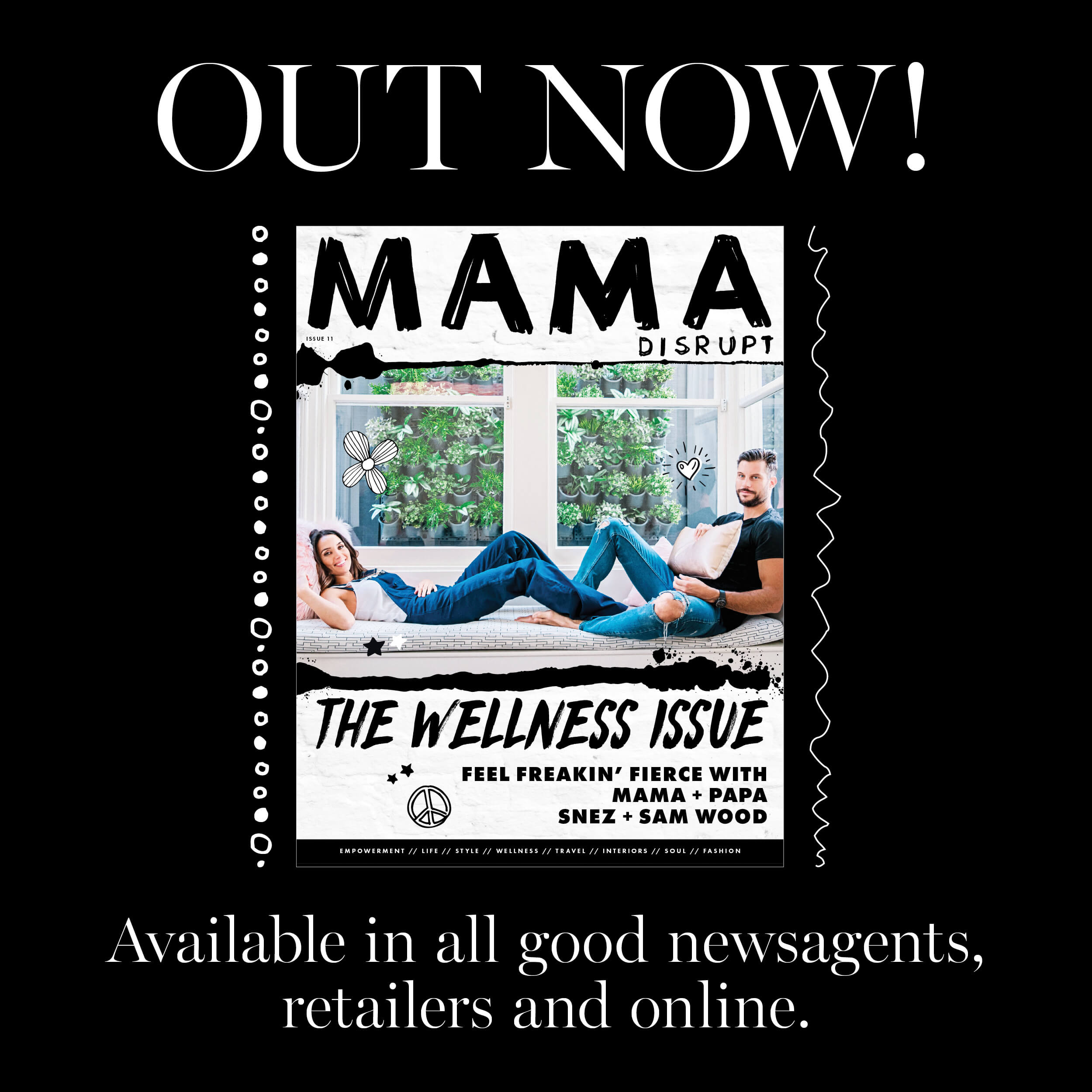 Mama Disrupt® WELLNESS Issue OUT NOW