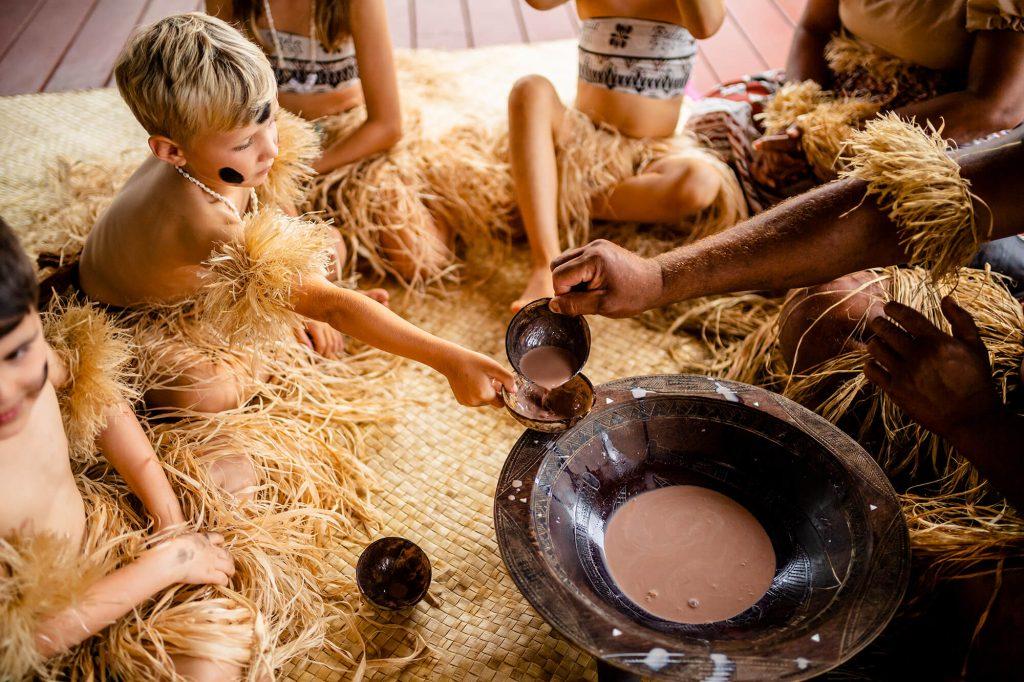 fiji nanuku auberge mama disrupt kids kava ceremonies chocolate