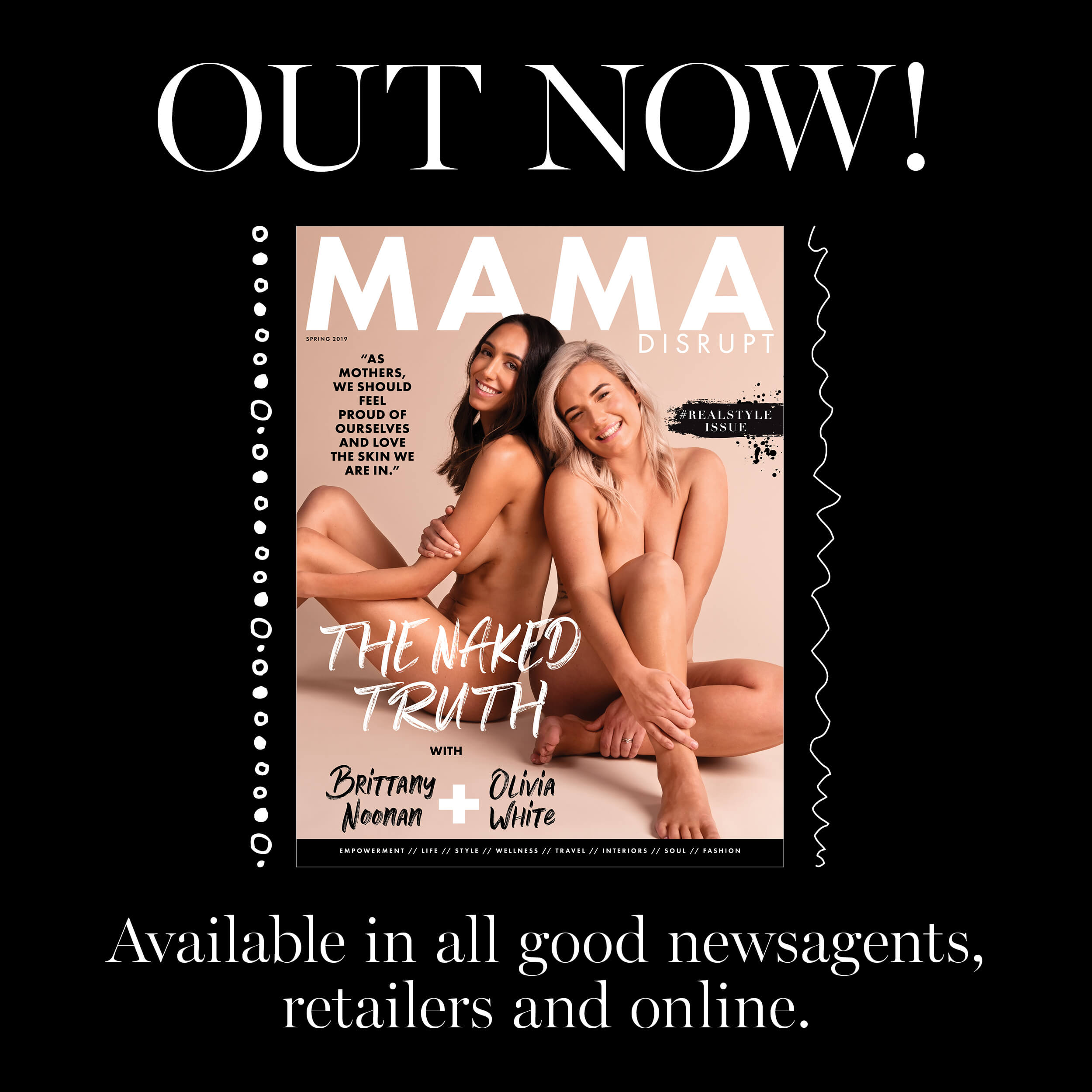 Mama Disrupt® REALSTYLE Issue OUT NOW