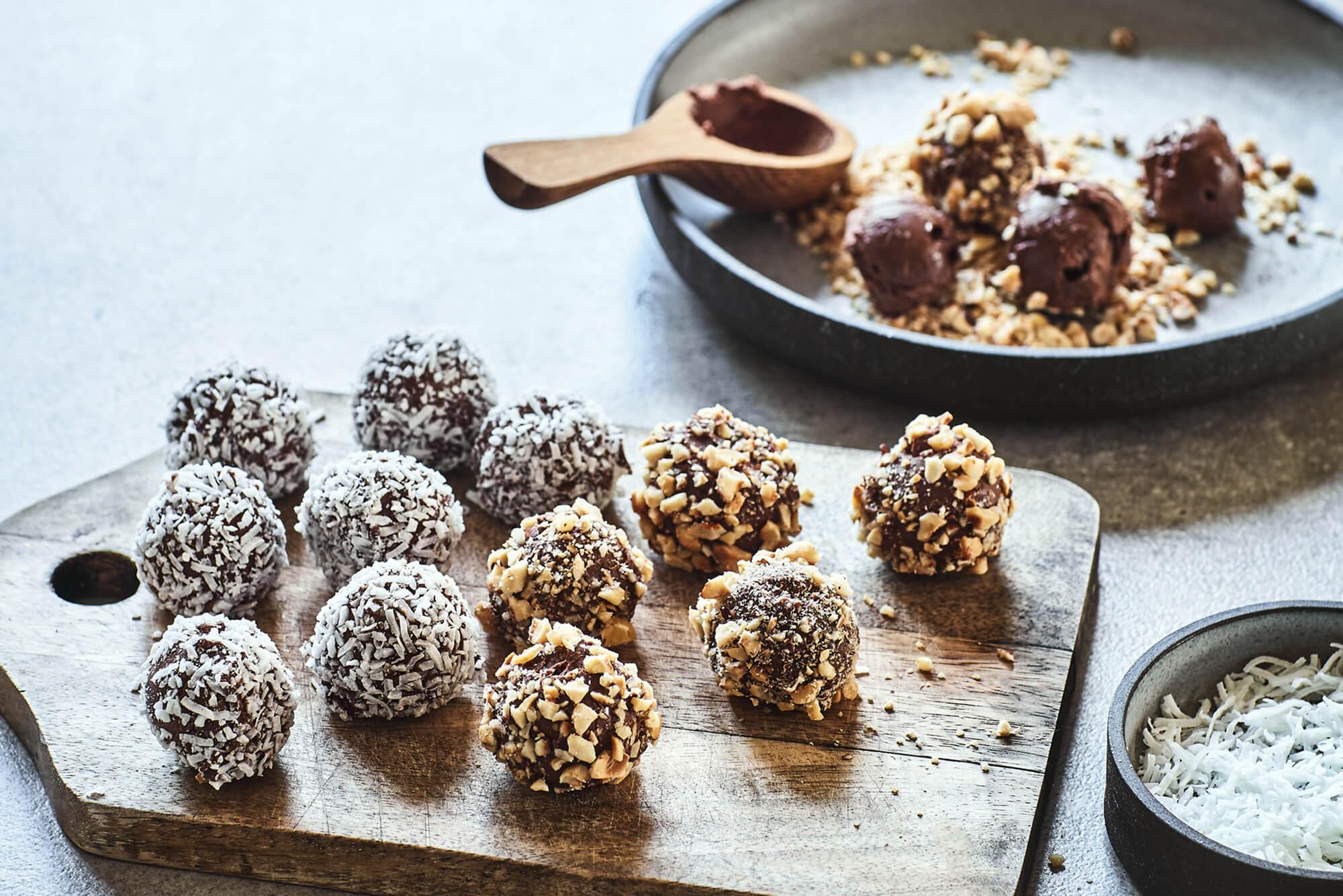 chocolate truffles mama disrupt