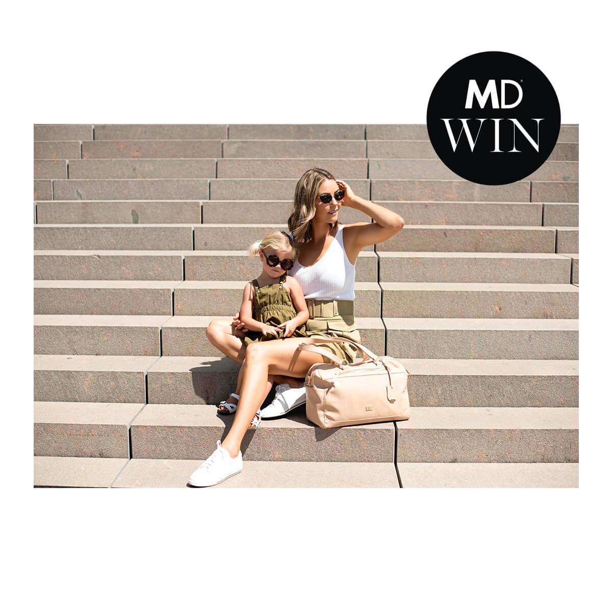 Vanchi Baby Bags Mama Disrupt® Win