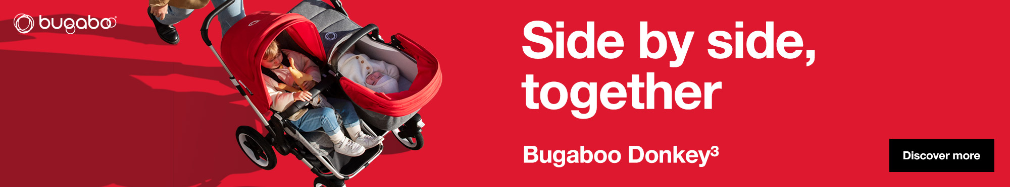 Bugaboo Donkey 3 Pram Mama Disrupt® Advertisement