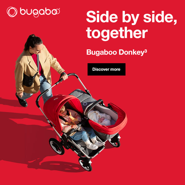 Bubaboo Donkey 3 Mono Pram Mama Disrupt® Advertisement